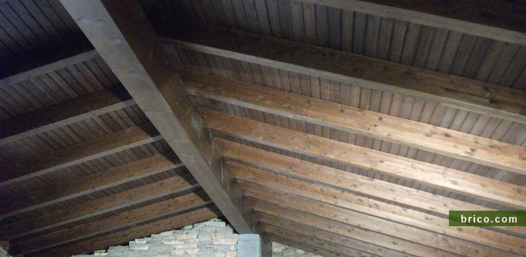Cubierta de madera rehabilitación