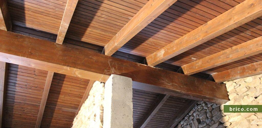 Tejado de madera rehabilitacion