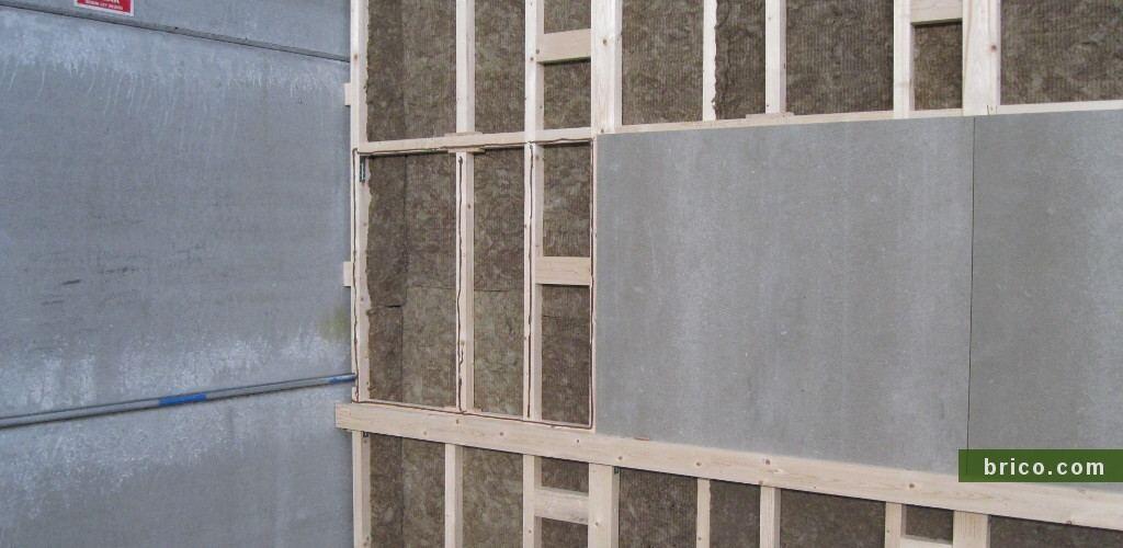 Listones para estructura de paredes y techos