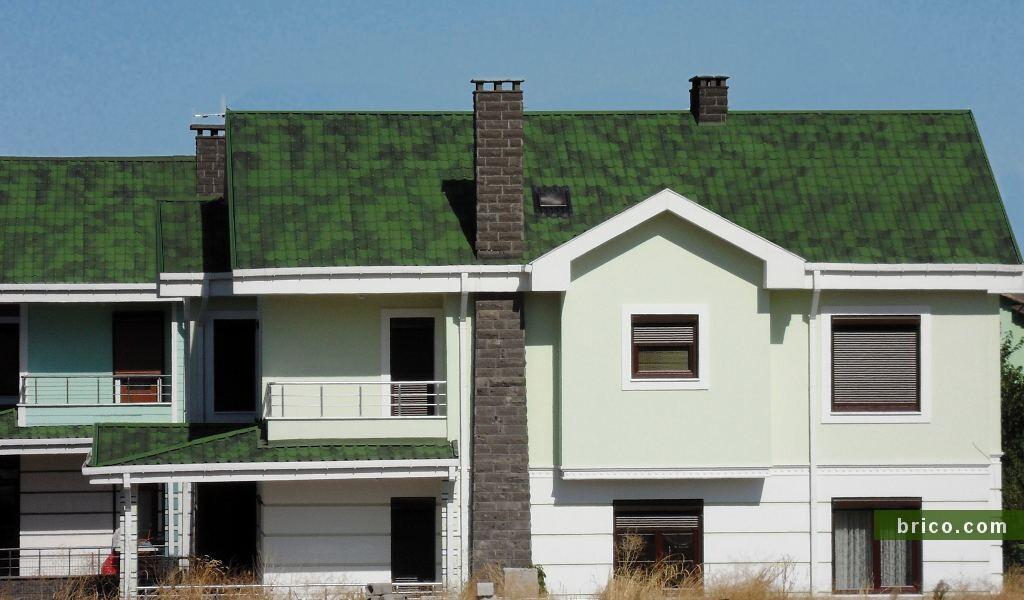 Onduvilla verde cubierta