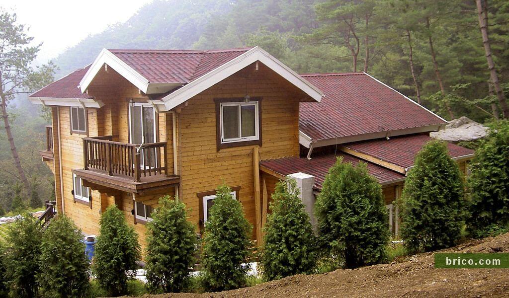 Onduvilla casa de madera