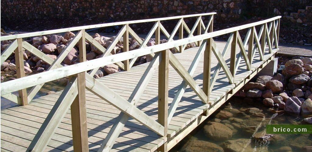 Puente madera autoclave