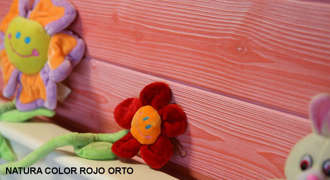 Friso madera Rojo Orto