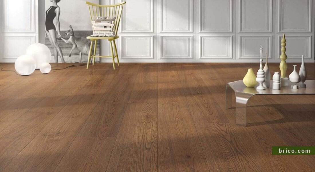 Parquet flotante Roble Whisky