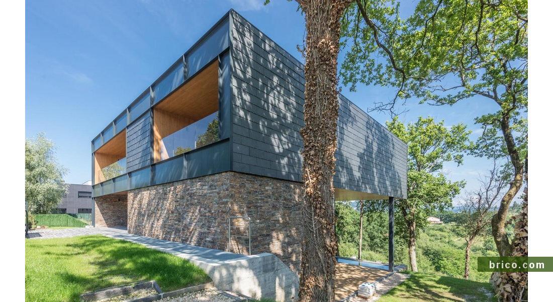 Thermochip Housing acabado pizarra y piedra