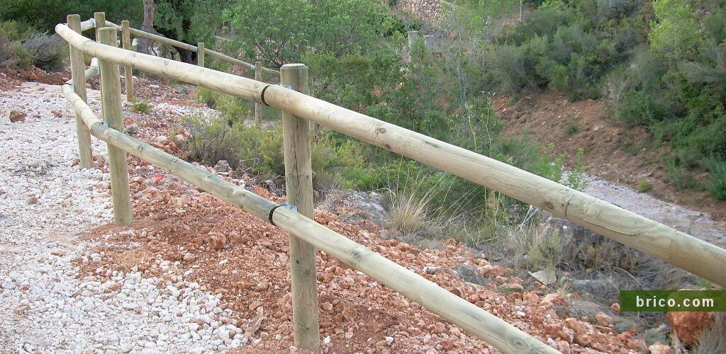 postes autoclave con abrazaderas tejanas