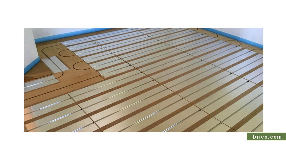 Thermochip Floor con calefacción radiante