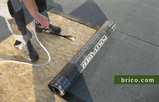 tela asfaltica autoprotegida gris