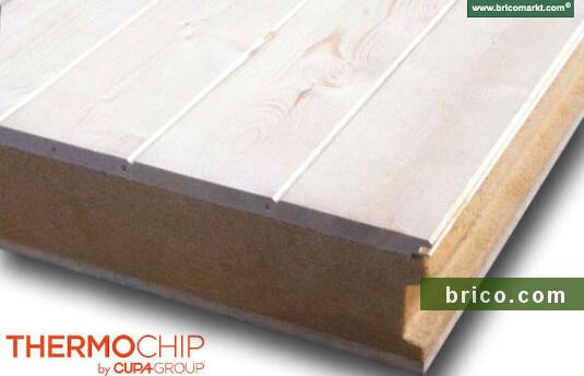 thermochip fibra de madera